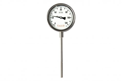 TUVO_Instruments_GAO-100_Gas_actuated_thermometer_Celcius